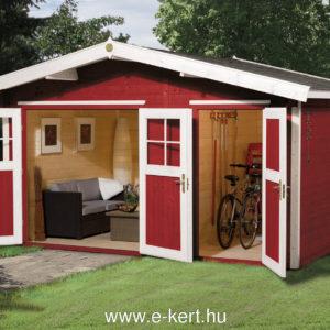 Weka faház svédvörös színben