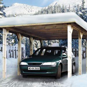 Tirol nyitott garázs