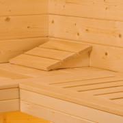 Szauna pad szauna belső tér kialakítás