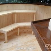 Dézsafürdő padozata