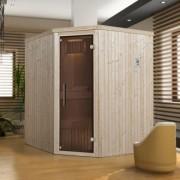 Szauna építés elemes panel szauna segítségével. Element sauna mit saunaofen