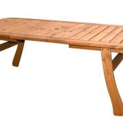 Fa kerti asztal 100x200cm