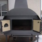Kerti konyhákba építhető kemence tűztér