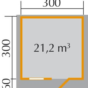 Faház alapozási mérete