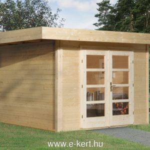Minőségi faház Weka faház 126-os designhaus