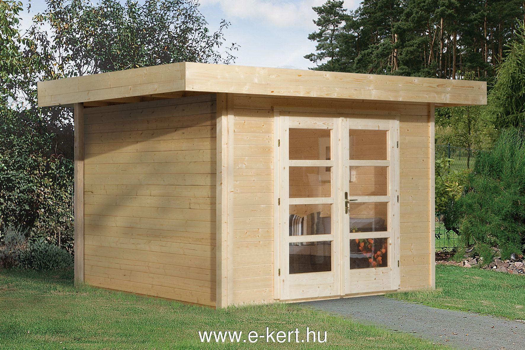 380×300 cm-es faházunk készre szerelve, festés nélkül