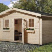 Faház építés terasszal vagy terasz nélkül