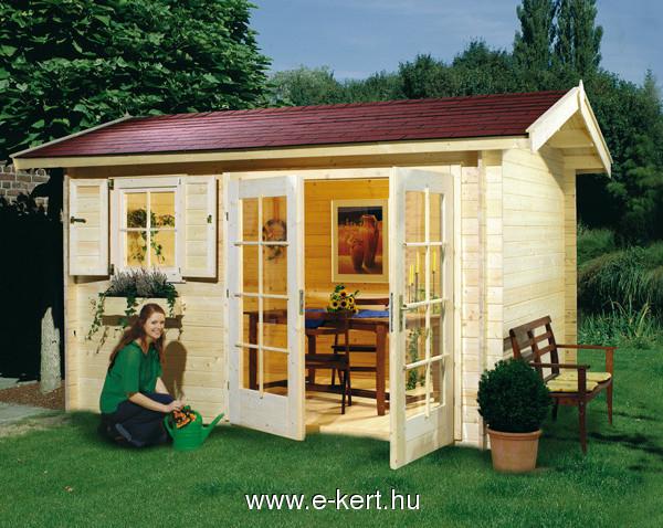 380x250 cm-es duplaajtó kerti paház