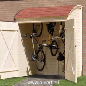 Kerékpártároló Weka kukatároló 394