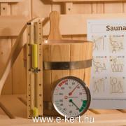 Szauna Kemi OS 45 mm finn panelszauna 2-es méret