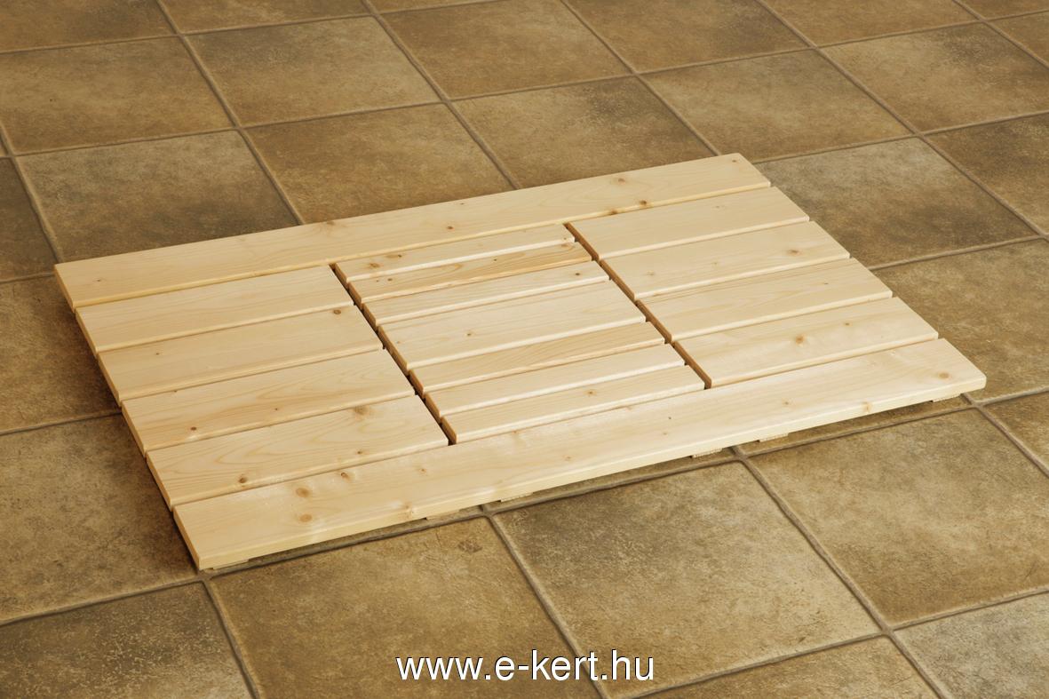 Szauna padlórács
