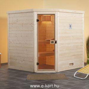 Finn szauna 195x178cm  45mm vastag falakkal építve