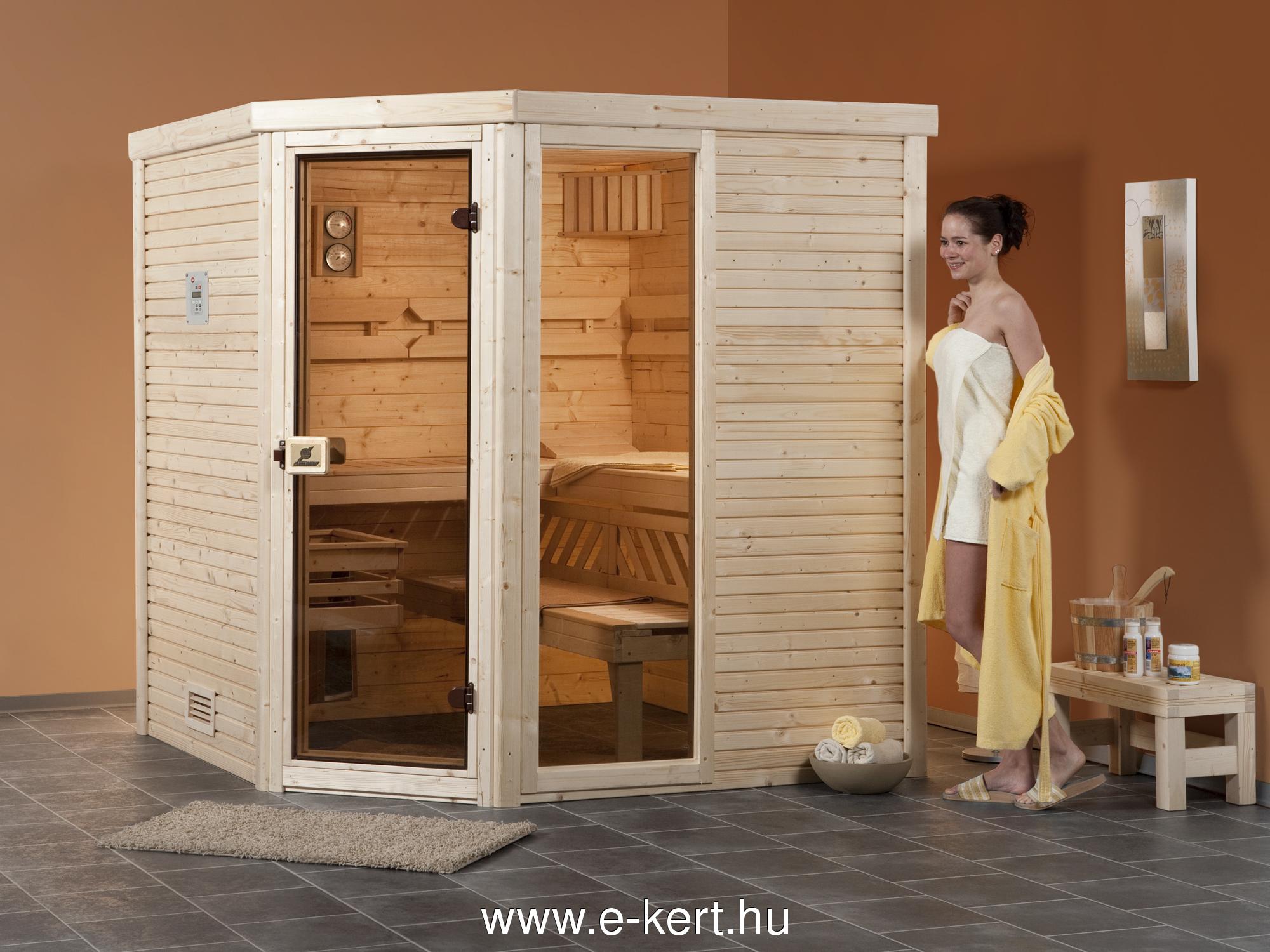 Cubilis finn szauna kabin 195×195 cm