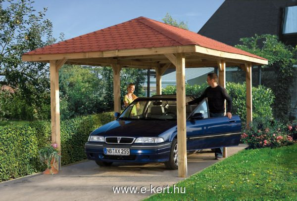 Nyitott garázs pavilon