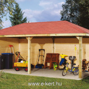 Nyitott garázs pavilo