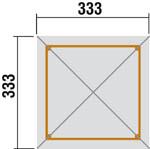 Éden2 Kerti lugas zsindellyel 651/2 -