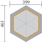 656/2-es Weka pavilon alaprajza
