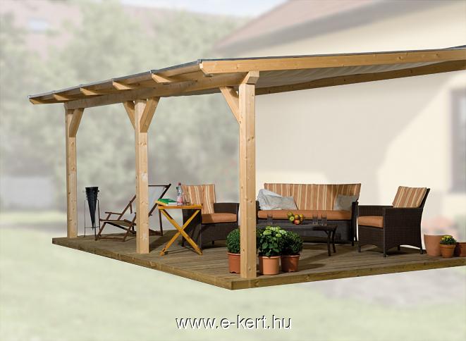 Terasz tető, terasz fedés polikarbonát tetővel
