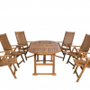 Összecsukható pozicionálható kerti székek