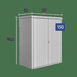 Fém szerszámtároló Biohort 150