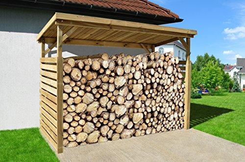 Fatároló építés telített faanyagból
