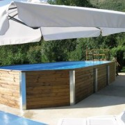 Weka Holz pool