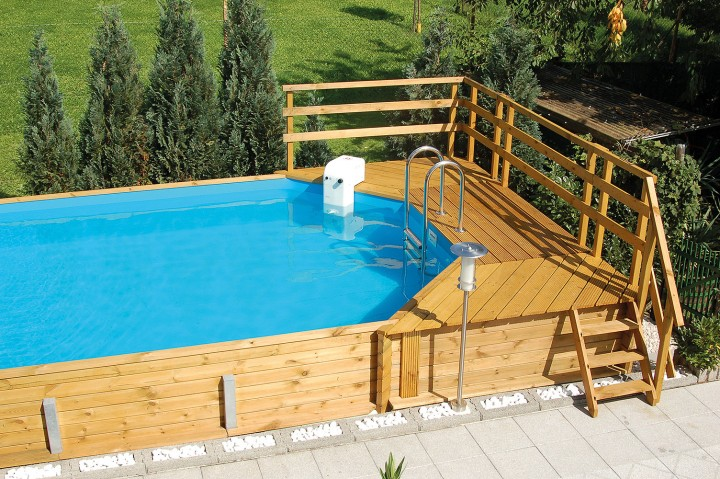 Weka holzpool good rundpool swimming pool holz fun wood for Swimming pool holzpool