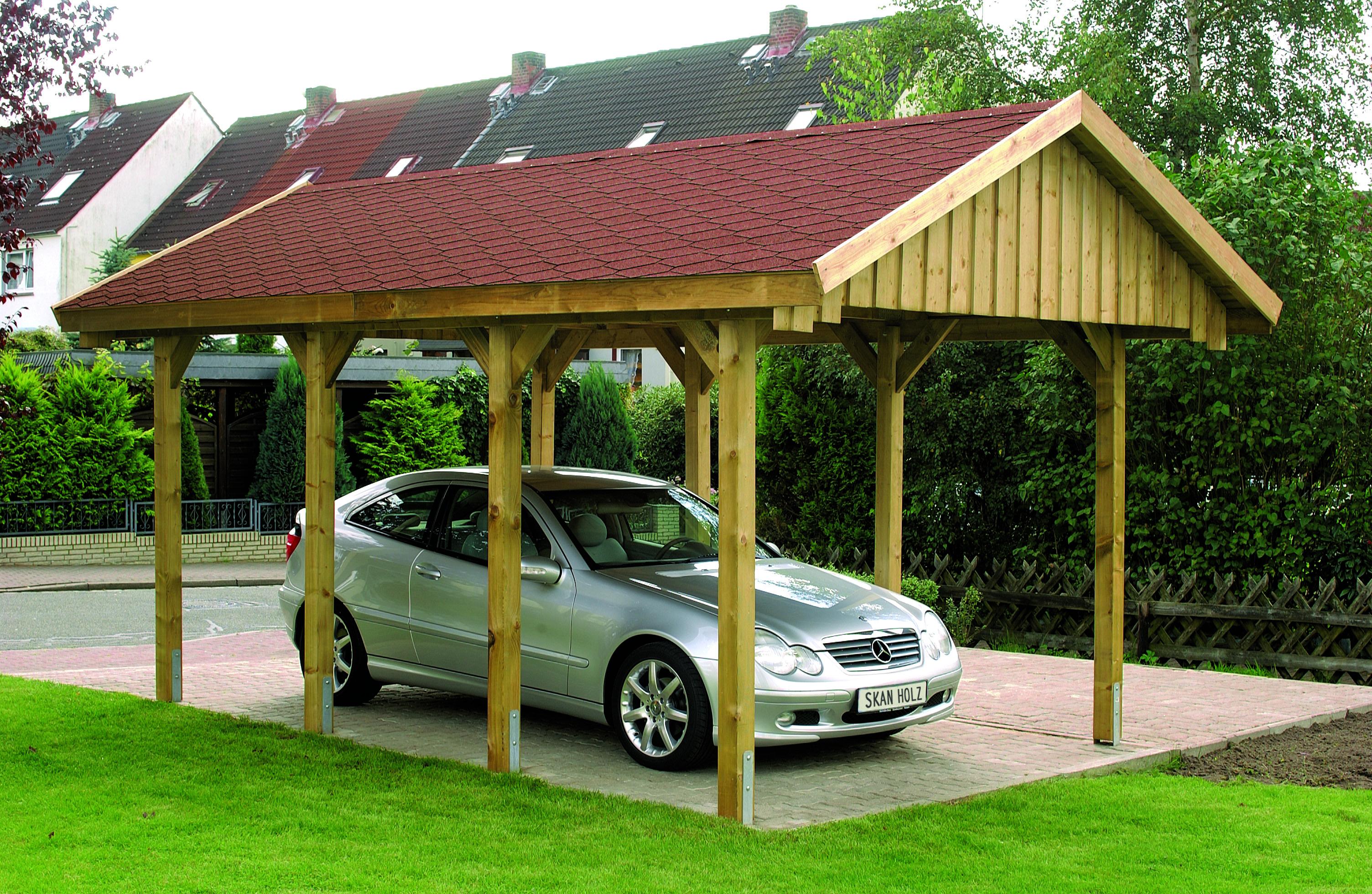 Nyeregtetős garázs SH Sauerland 380×600