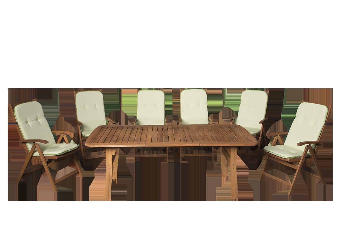 masszív kerti szék 150 kg+