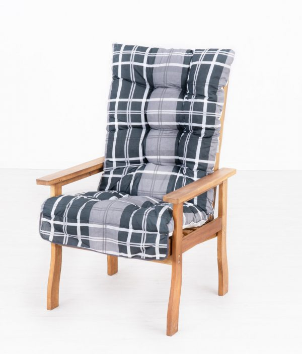 Fa kerti bútor fotel párnával M215