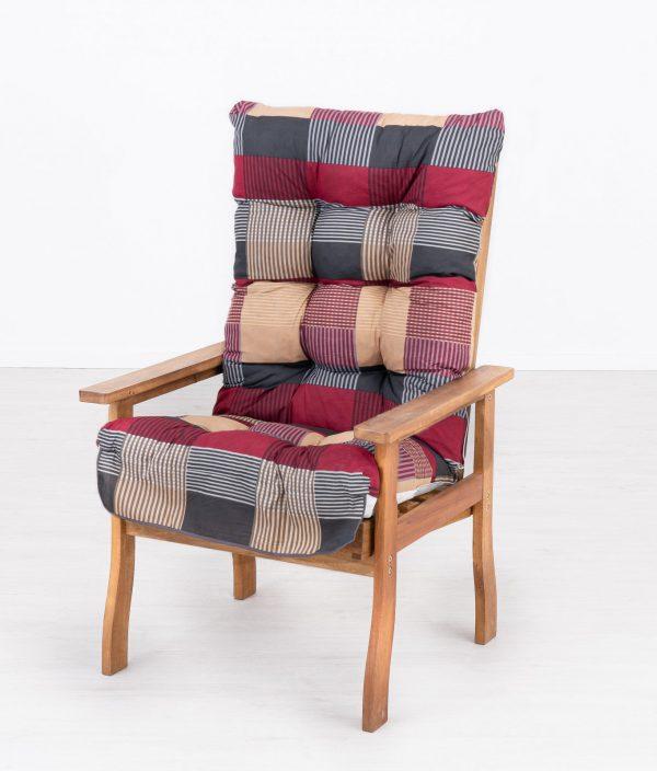 Fa kerti fotel M706 párnával
