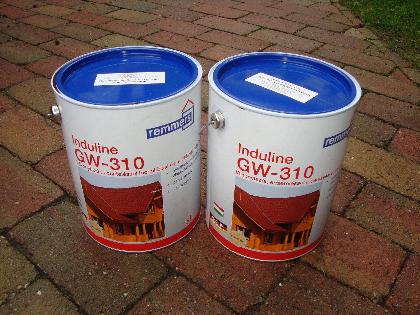 Remmers vékonylazúr GW310 faanyagvédelem