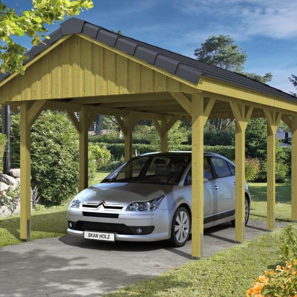 Cserép tetővel vagy zsindely fedéssel is építhető garázs tető