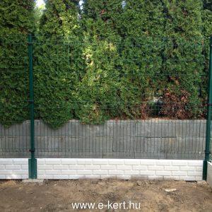 Fém kerítés, kerítés építés