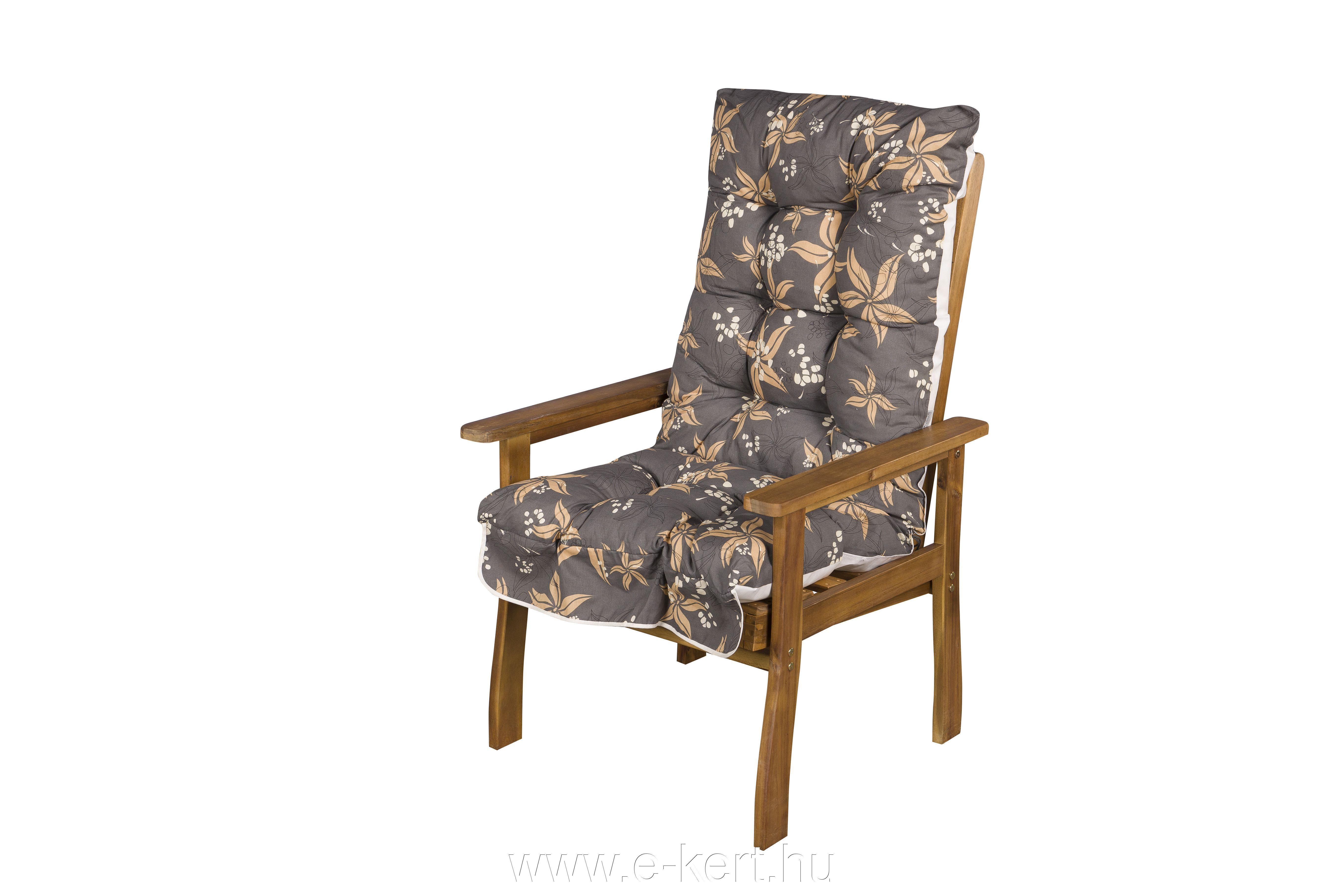 Akác kerti fotel Relax párnával