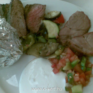 Grill recept -Steak