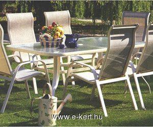 alumínium kerti bútor Marshall szett