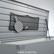 Fém tárolódobozhoz opcionális tetőháló
