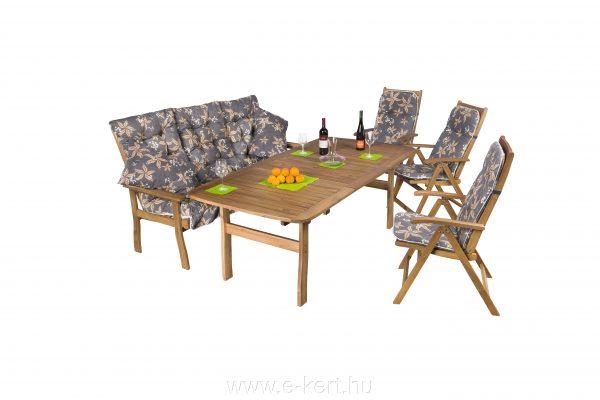 Kerti bútor összeállítás kerti pad és kerti szék