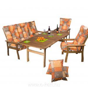 Akácia kerti bútorok