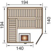 Szauna építés könnyen gyorsan előre gyártott panelekből.
