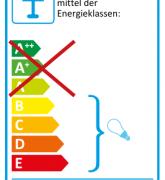 Energiatakarékos fénycsővel nem használható