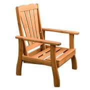 Masszív kerti fotel fenyő alapanyagból