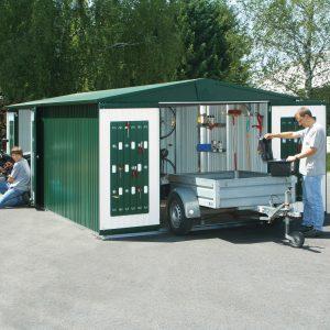 Fém kerti tároló Biohort Europa
