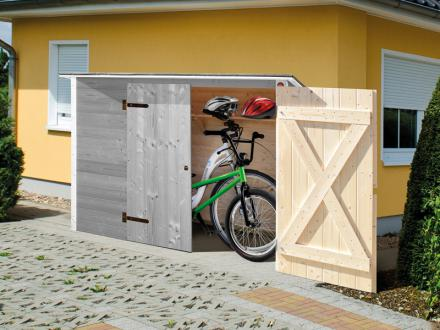 Szerszámtárolók kerékpártárolók építése