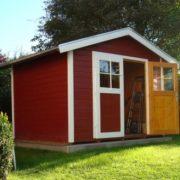 122-es faházunk svédvörös színben