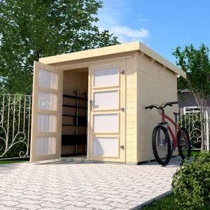 Szerszámtároló faház építés Weka 321