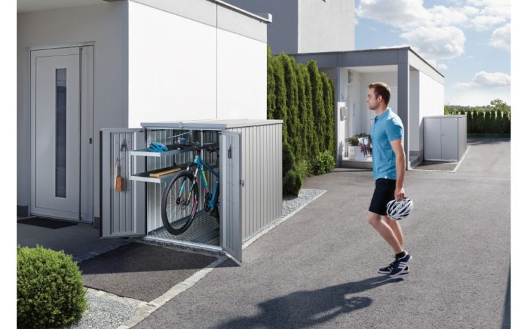 Prémium kerékpártároló a Biohorttól