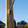 Elhúzható pergola árnyékoló 290x300cm terasz napvédelem -