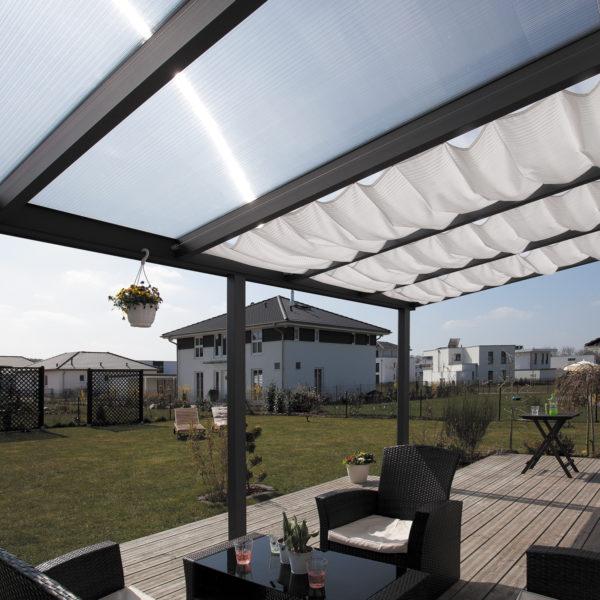 Terasz tető alumínium terasz fedés